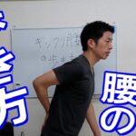 【腰痛】ぎっくり腰の歩き方 #ギックリ腰 世田谷区用賀の姿勢改善専門の整体