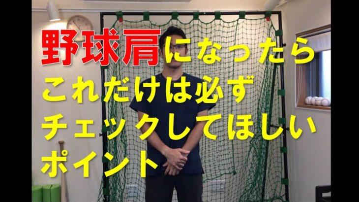 野球肩になったらこれだけは必ずチェックしてほしいポイント|京都市 野球肩野球肘専門 MORIピッチングラボ