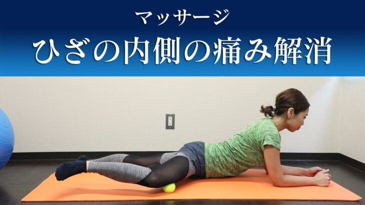 【膝痛を取り去るマッサージ】膝の内側に痛みのある方に効果的な方法 ※ひざ痛専門トレーナー監修