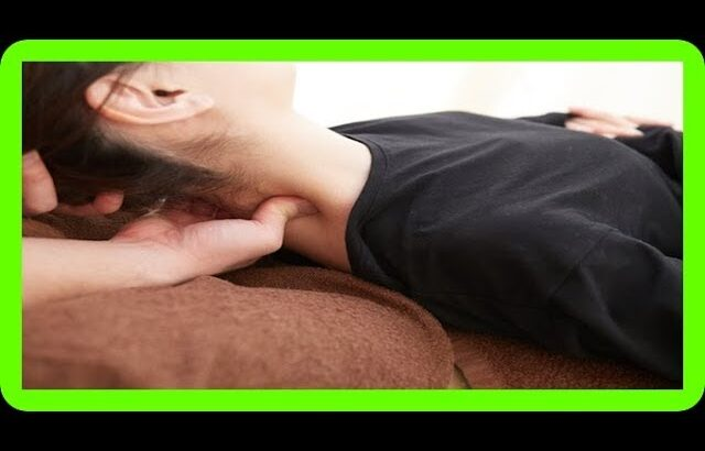 【簡潔】見ればできる寝違えテクニック
