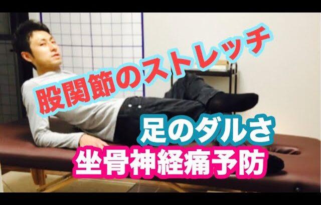 【姫路市 整体院】股関節 エクササイズ ストレッチ【変形性股関節症 臼蓋形成不全】