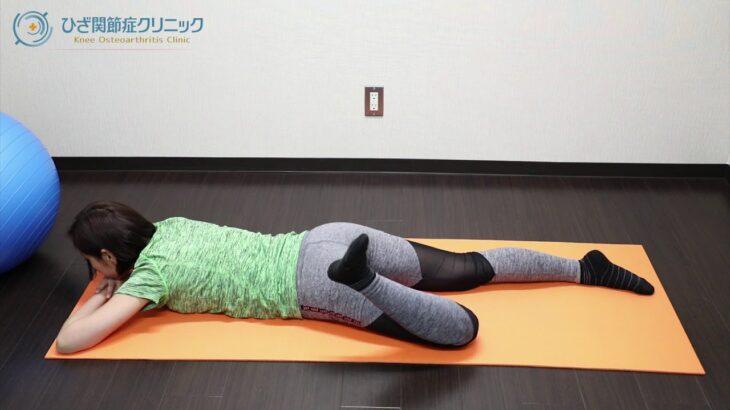 毎日たったの5分!変形性膝関節症に効くハムストリングスの筋トレ方法