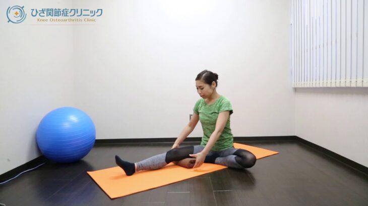 【変形性膝関節症】膝が痛い時にやってほしい筋トレ「タオル潰し運動」