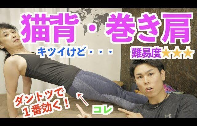 1人で猫背矯正&巻き肩矯正できちゃう運動!?「リバースプランク」をマスターせよ!