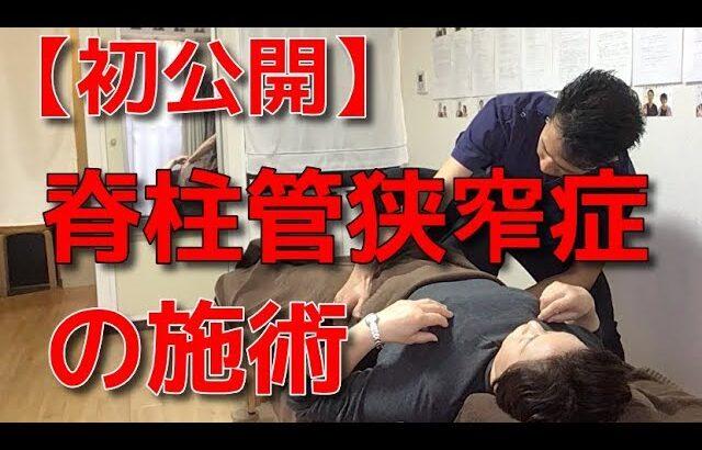 【初公開】脊柱管狭窄症の施術 二子玉川 鍼灸整体院WATO