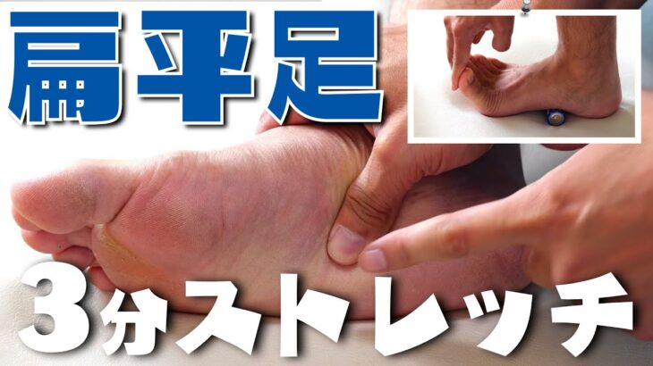【簡単】3分で扁平足を治す方法!!【足底筋膜炎】【足の裏の痛み】#withme#家で一緒にやってみよう#stayhome
