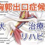胸郭出口症候群の症状とリハビリやトレーニングについて解説