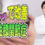 【ひざ痛】筋トレ&ストレッチで変形性膝関節症を改善!
