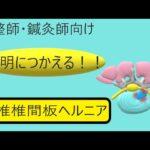 【柔整・鍼灸 新人セラピスト】腰椎椎間板ヘルニア