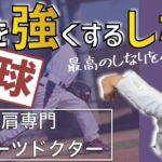 野球 肩を強くする方法 しなり編【正しい腕のしなりで肩を強くする】