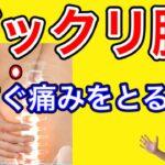 【埼玉 ギックリ腰】ぎっくり腰の痛みを今すぐにとる方法!!【埼玉県蕨市 腰痛専門整体院羽翼 TSUBASA 】