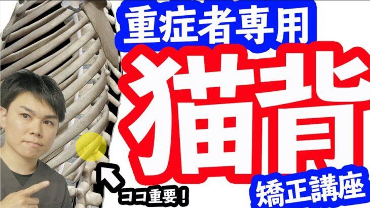 【重症者向け「猫背」矯正講座】ガチガチ猫背に効く骨盤&腰椎ストレッチエクササイズ!胸と背中を意識しすぎる落とし穴。