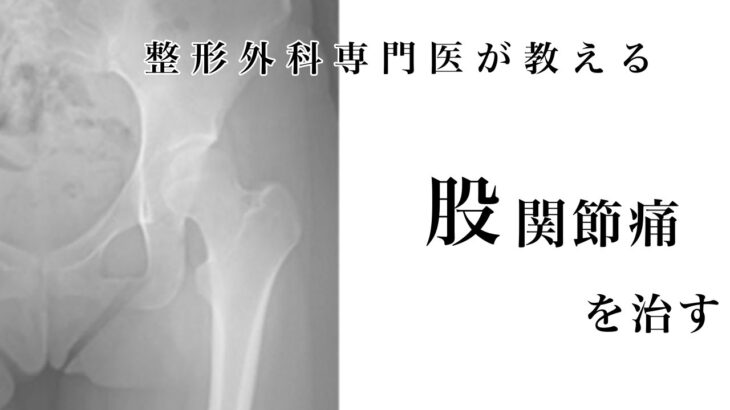 医師が教える!「股関節痛」に効く運動TOP3!