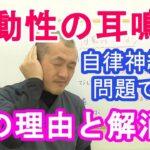拍動性耳鳴りは、自律神経を整えることで楽になる!~石川県小松市のワイズ整体院~