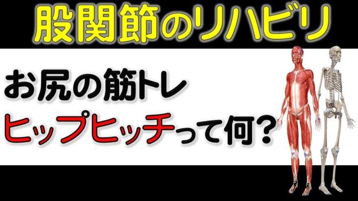 21. 【変形性股関節症】や【人工股関節】のリハビリ! ヒップヒッチについて解説