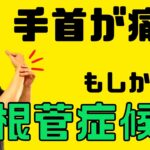 【手首の痛み】手首が痛い!もしかして手根管症候群 整体院 尚〜NAO〜