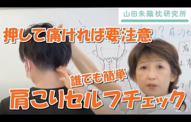 実はあなたも肩こり?肩こりセルフチェック!|整形外科医山田朱織