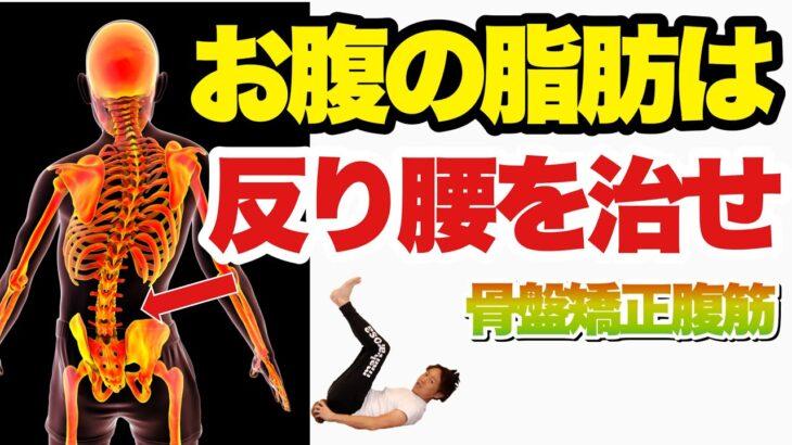 【お腹の脂肪燃焼】反り腰腰痛が治るスローエクササイズ!